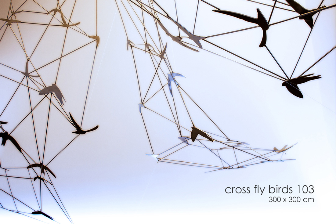 cross fly birds - Alfonso Doncel
