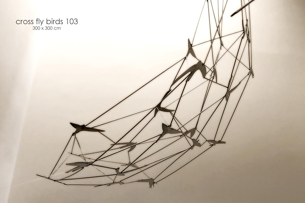 cross fly birds - Alfonso Doncel